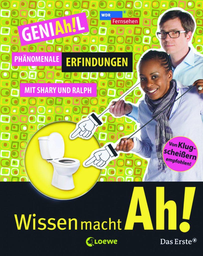 """Cover des Buches """"GeniAh!l - Phänomenale Erfindungen"""""""
