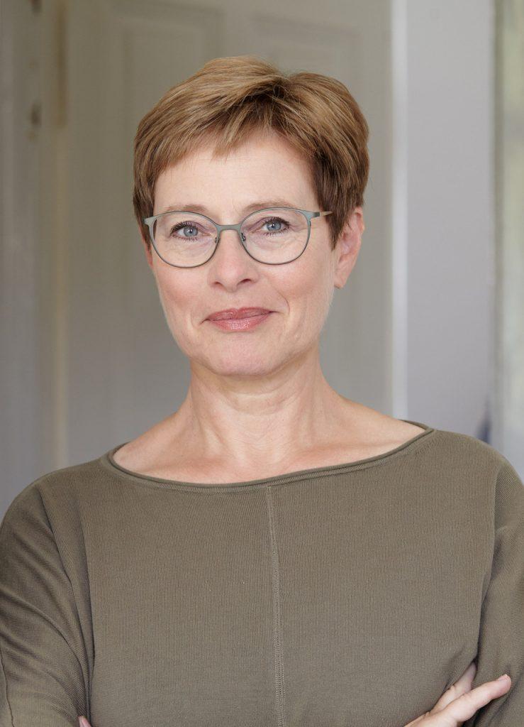 Porträt der Autorin Doris Mendlewitsch